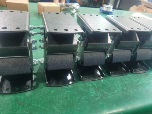 振动支撑ABD27弹性支撑AB-D-18重型支架ABD38厂家 橡胶弹簧金属支架