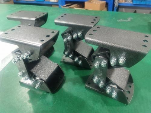振动支撑AB-D-38/弹性震动支撑AB-D38/重型支撑件缓冲座ABD38/生产减震器AB-D18/橡胶减震缓冲