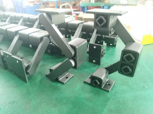 德立达弹性振动支撑和传统螺旋型弹簧相比具有一定优点优势